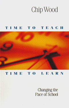 A Time to Teach Book Cover