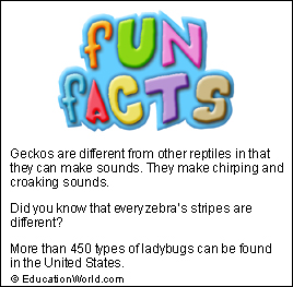 Fun Facts Volume #27