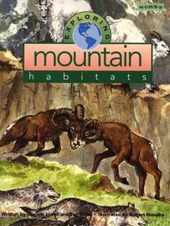 Exploring Mountain Habitats Book Cover