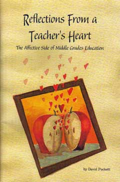 Reflections From A Teacher's Heart Book Cover Image