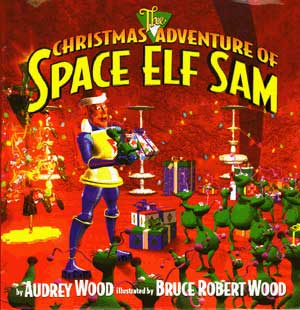 Space Elf Book Cover