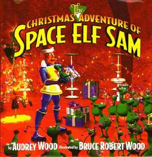 Space Elf Book Cover