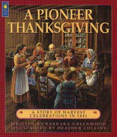 A PIONEER THANKSGIVING Book Cover Image