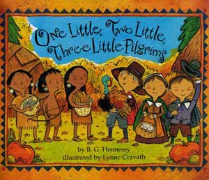 ONE LITTLE, TWO LITTLE, THREE LITTLE PILGRIMS Book Cover Image
