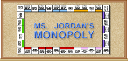 Bulletin Boards That Teach Classroom Monopoly