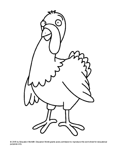 Turkey template for bulletin board for Turkey template for bulletin board