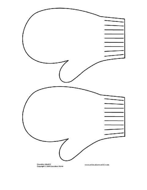 Mitten Writing Template A_curr/bullboard/images/