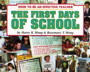 The First Days of School Book Cover