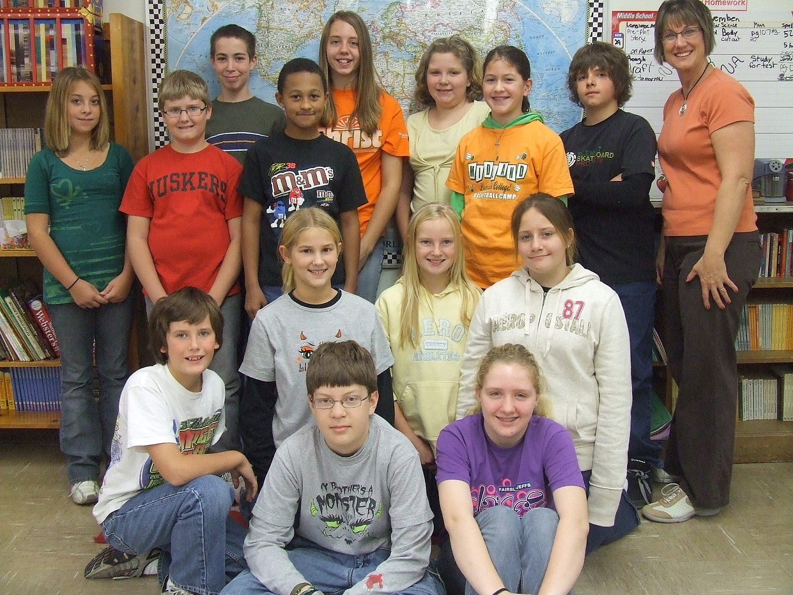 Worksheet Sixth Grade education world teacher feature sixth grade snoops karen dux and her class share classroom news photos provided by dux