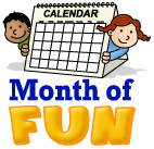 month of fun classroom games by month