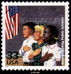 Desegregation Stamp