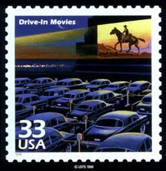 Drive-In Stamp