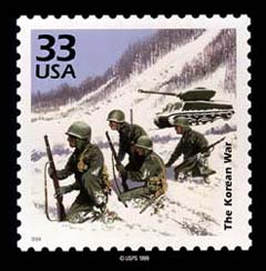 Korean War Stamp