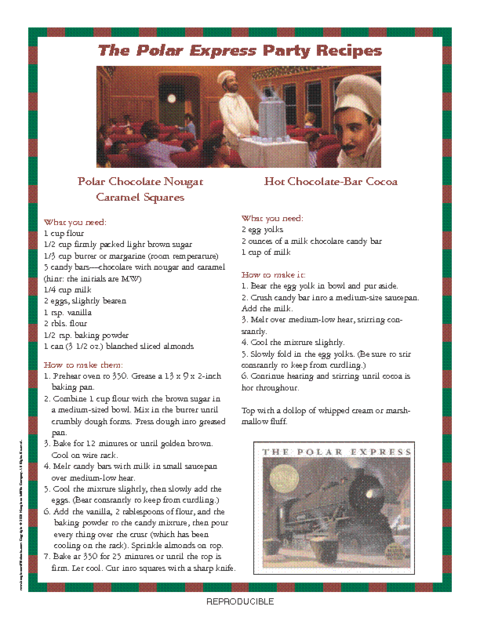 Polar Express Worksheets : Polarexpressimage pdf education world