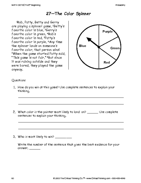 Hilaire image pertaining to critical thinking printable worksheets