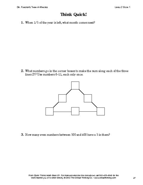 critical thinking in mathematics education