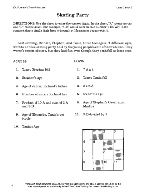 Crush image in critical thinking printable worksheets
