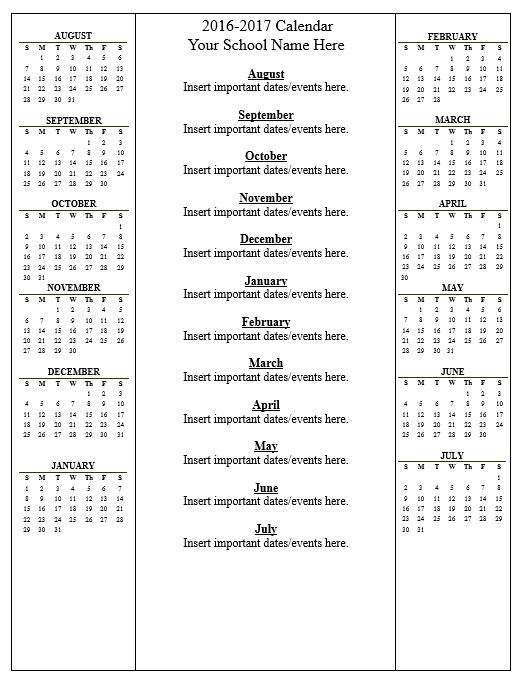 click here calendar 2016 2017doc to download the document