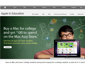 Site Review: Apple com/Education | Education World