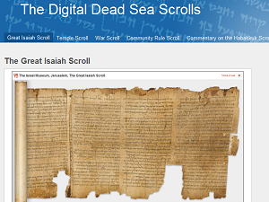 Image result for The Digital Dead Sea Scrolls