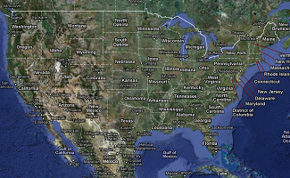 Tech in the Clroom: Google Maps | Education World Satellite Map Location on