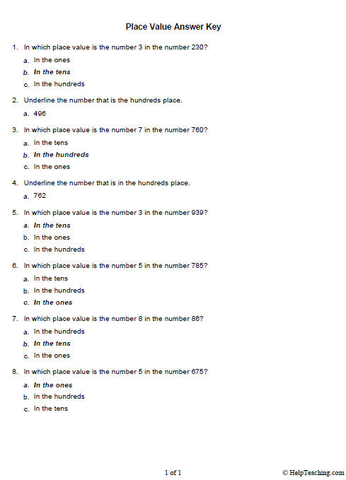 All Worksheets » Education Com Worksheets Answers - Free Printable ...