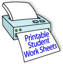 elementary level student worksheets