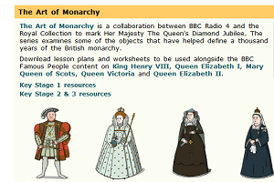 art of the monarchy
