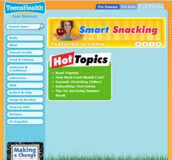 Teen Health Web Site Teen 43