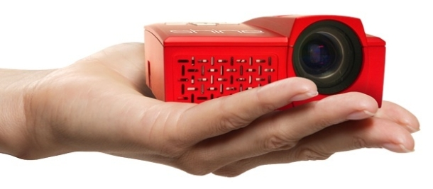 World s smallest hd projector hits market education world for Smallest micro projector
