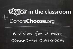 skype donors choose