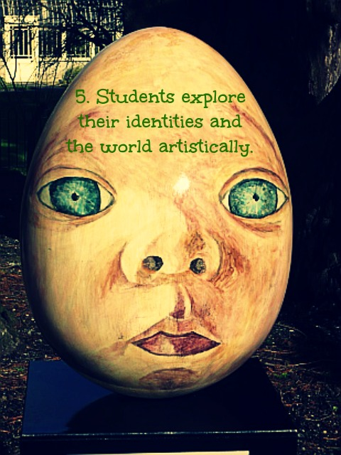students explore identities