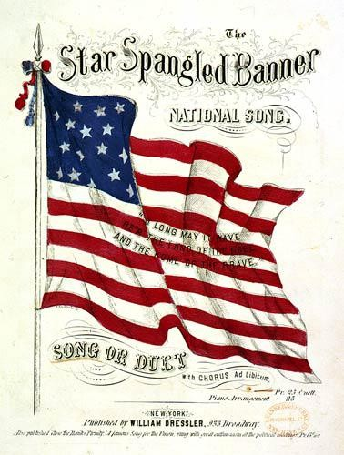 image regarding Words to the Star Spangled Banner Printable identified as Each-Working day Edit: The Star-Spangled Banner Training Worldwide