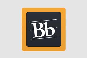 Blackboard's app logo