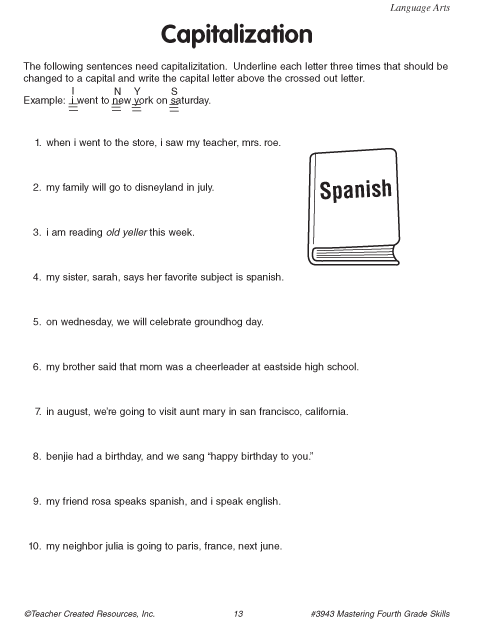 Printables Capitalization Practice Worksheets capitalization practice worksheets plustheapp click here pdf to download the document