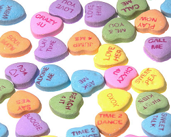 Valentine S Day Candy Heart Stories Education World