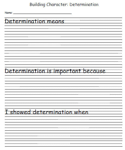 picture relating to Character Development Worksheet Printable referred to as Persona Improvement Template: Conclusion Education and learning Planet