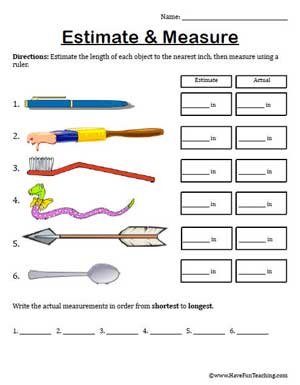 Click here estimate measure worksheet ma3 5 pdf to download the