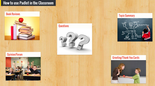 Five Ways to Use Padlet in Class | Education World