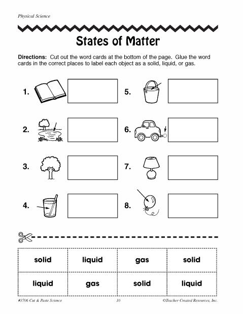 States of Matter | Education World