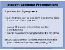 The OWL Aids Educators in Teaching Grammar