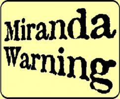 photo regarding Miranda Warning Card Printable named Each-Working day Edits: Miranda Legal rights Training Planet