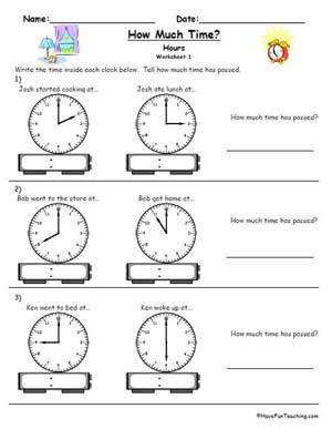 Clock telling time worksheet education world click here telling time clock worksheet hour ma3 5pdf to download the document ibookread ePUb