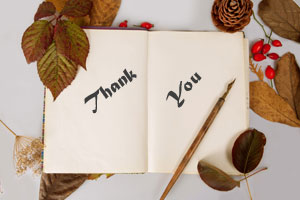 gratitude journal autumn