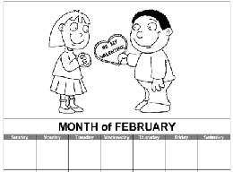 calendar month templates