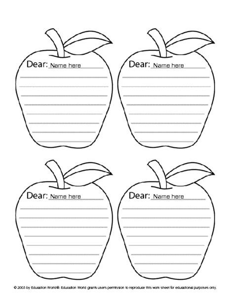photograph regarding Printable Apple Template known as Apple Icebreaker Template Instruction Globe