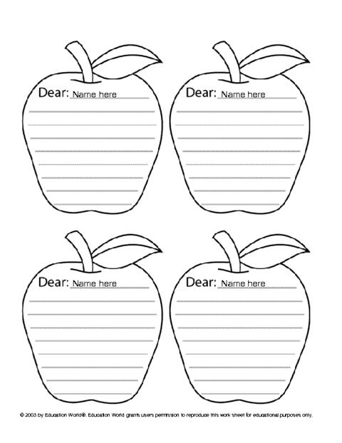 apple icebreaker template education world