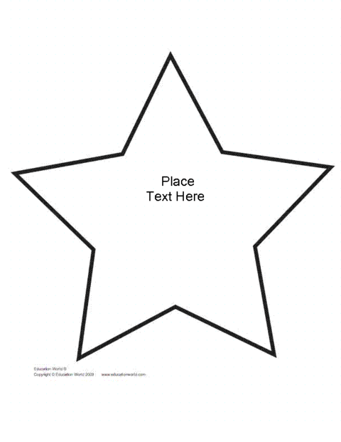 click here ew shapebook star unlined to download the