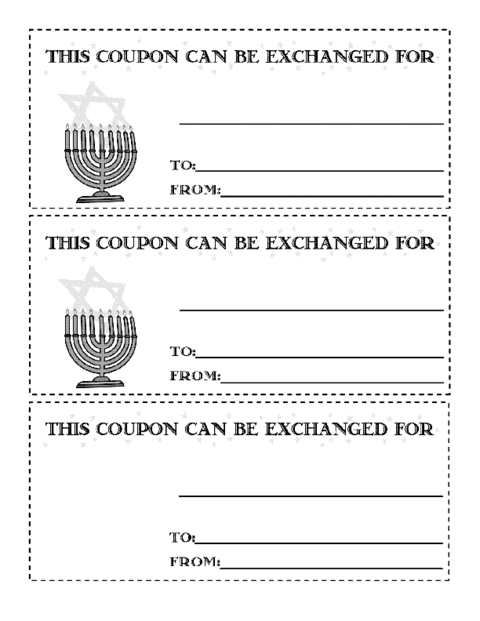 coupon page template