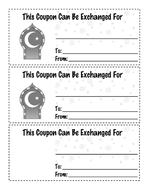 Fun Coupon Template from www.educationworld.com